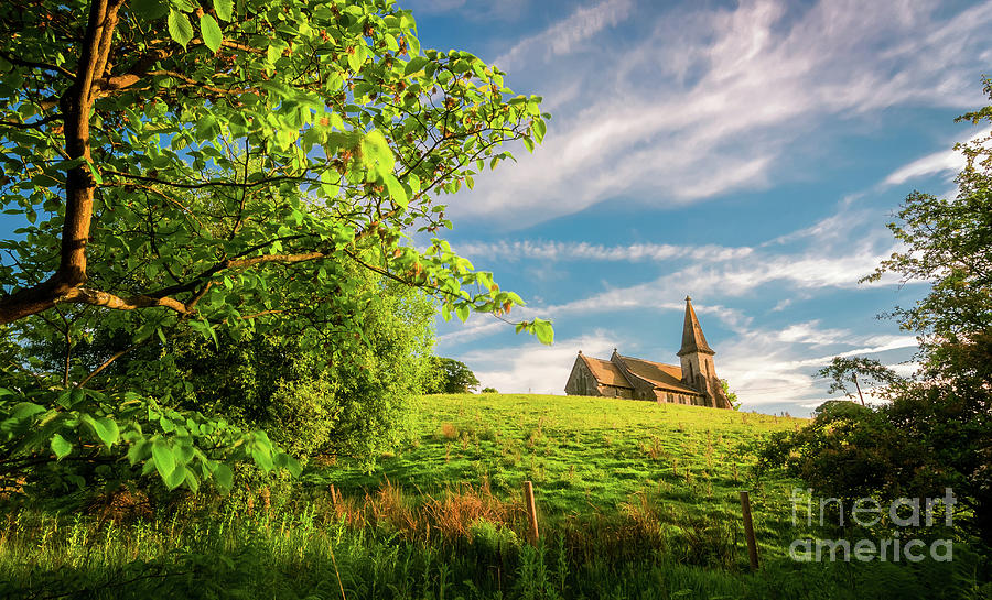 St Andrews Church In Blubberhouses Photograph