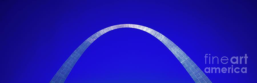 St Louis Photograph - St Louis Gateway Arch  by Tom Jelen