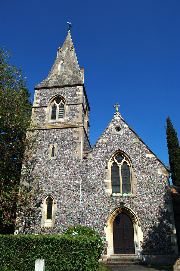 St Photograph - St Peters Marlow by Chris Day
