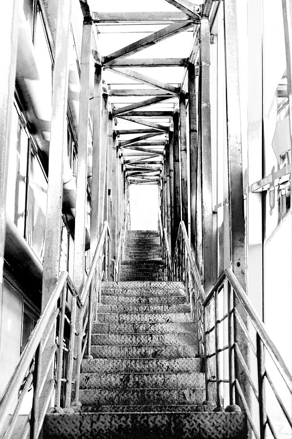 Victory Photograph - Stairway To The Light by Vadim Goodwill