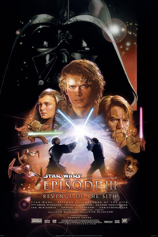 Star Wars Episode I The Phantom Menace 1999 Digital Art By Geek N Rock
