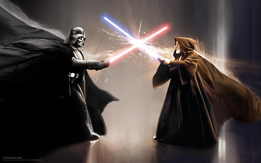 Star Wars Digital Art - Star Wars Episode Iv - A New Hope 1977 by Geek N Rock
