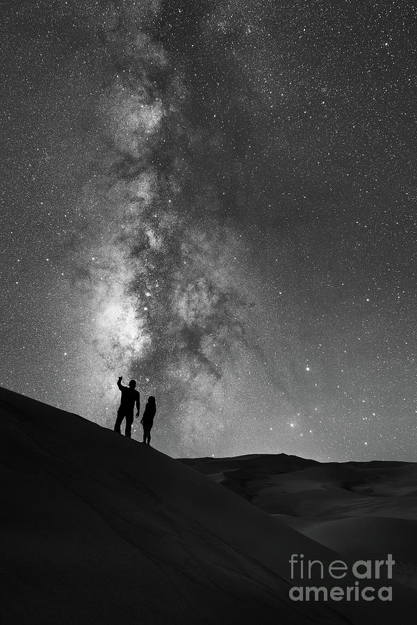 Star Crossed Lovers Photograph - Stargazers  by Michael Ver Sprill