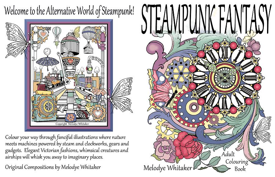 Steampunk Drawing - Steampunk Fantasy by Melodye Whitaker