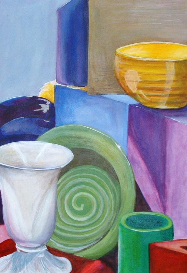 Still Life Painting Painting - Still Life  by Andrea  Darlington
