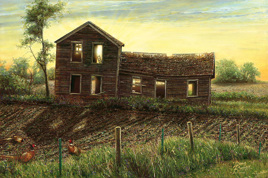 Still Light in the House Painting by Doug Kreuger