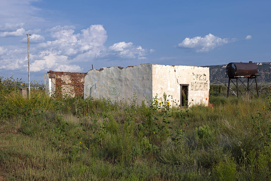 Route 66 Photograph - Store Ruins, Montoya, New Mexico 2 by Rick Pisio