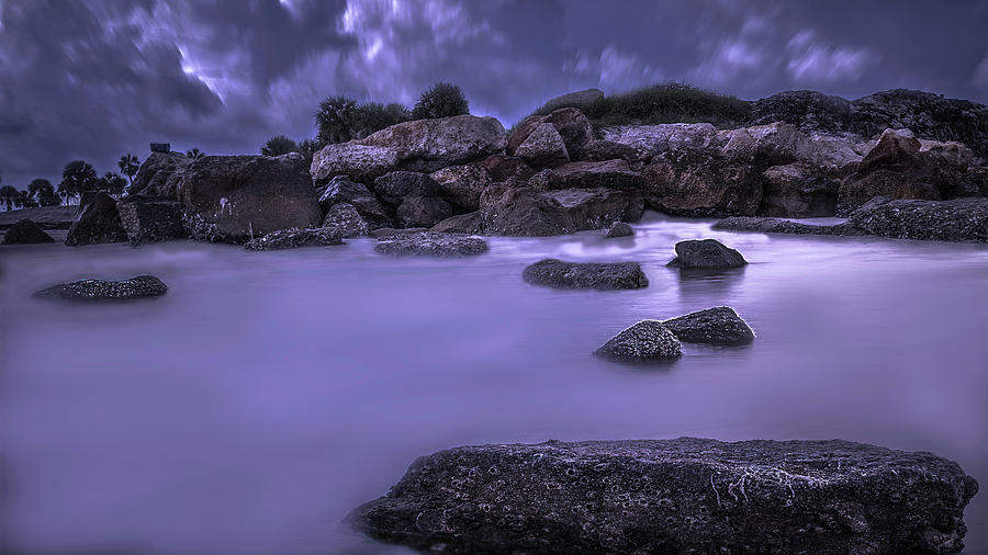 Landscape Photograph - Stormy Night by Todd Rogers