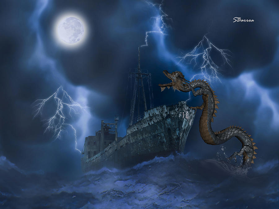 Stormy Weather Digital Art - Stormy Weather by Solomon Barroa