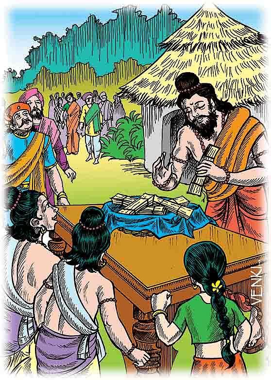 Story  Illustration Digital Art by Venki Venkatesh