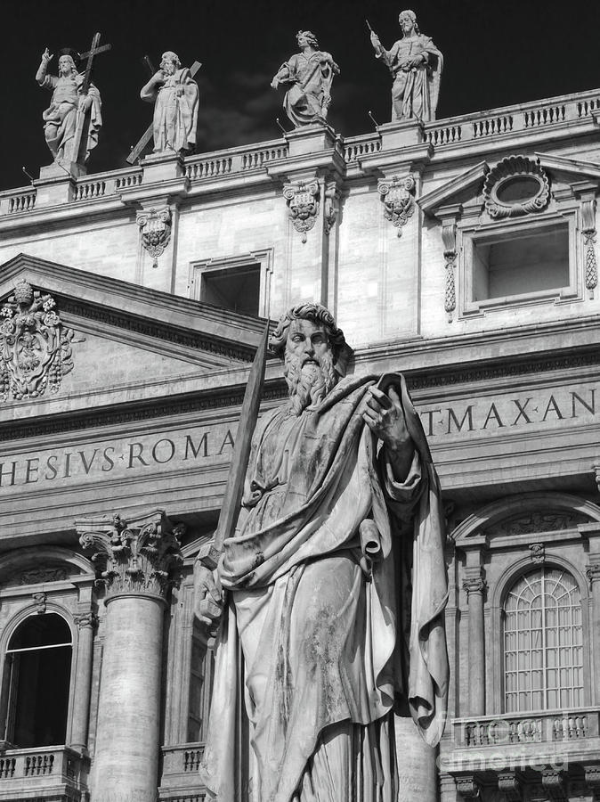St.Peter statue at the Vatican by Gregory Dyer