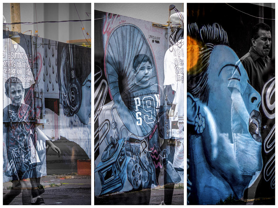 Mural Photograph - Street Art by Marit Runyon