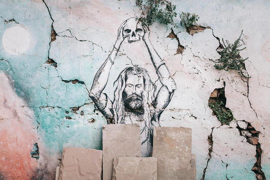 Banaras Photograph - Street Art by Marji Lang