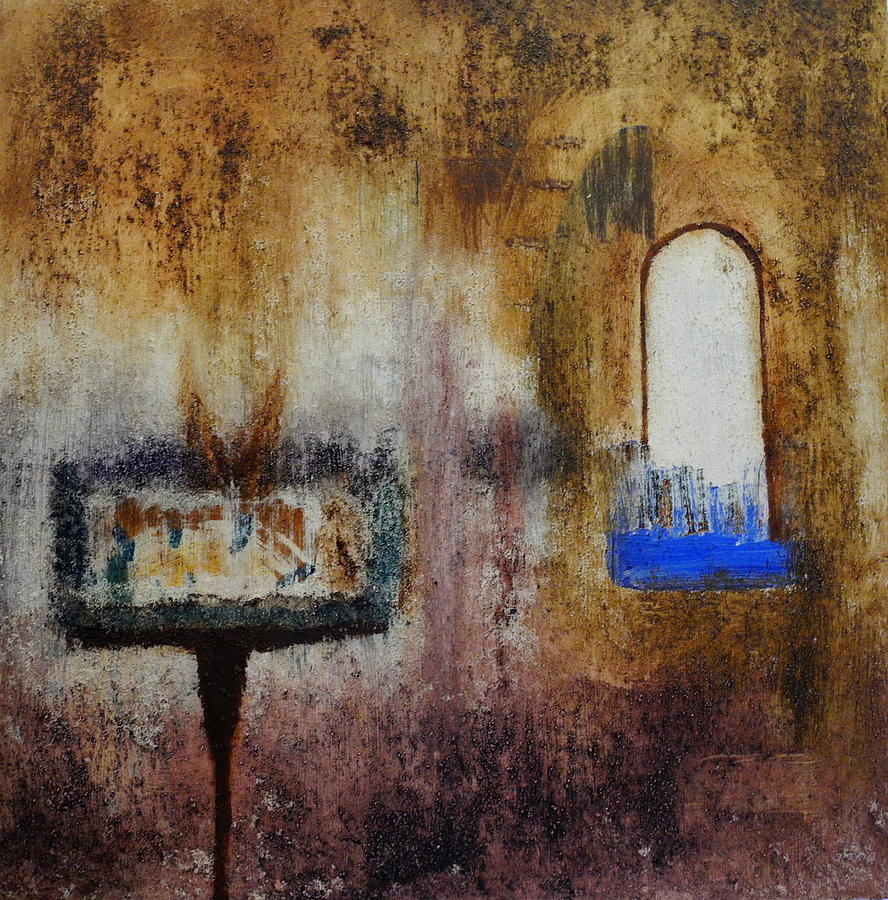 Abstract Painting - Sudden Doors by Sue McElligott