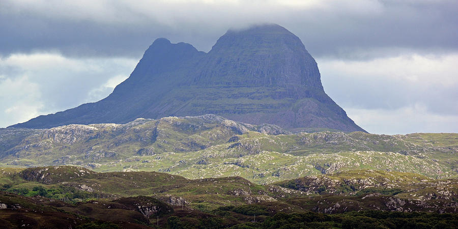 Mountain Photograph - Suilven by Steve Watson