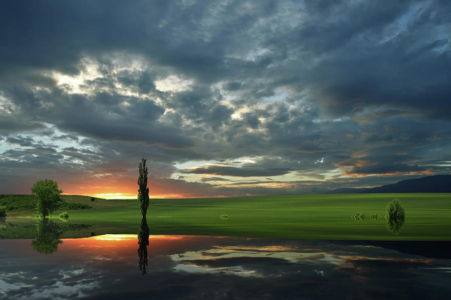 Hill Photograph - Summer Memories... by Juliana Nan
