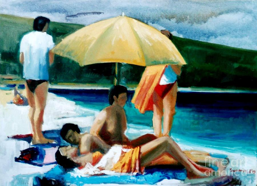 Summer Time Painting by George Siaba