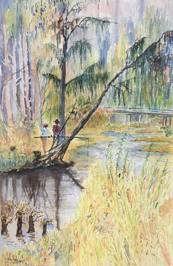 Low Country Painting - Summertime by Ben Kiger