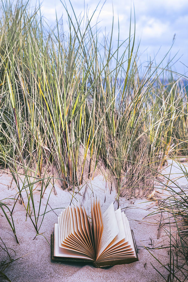 Dune Photograph - Summertime Is Reading Time by Joana Kruse
