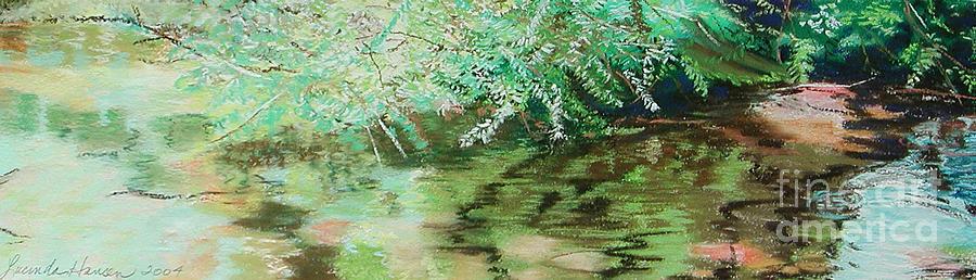 Landscape Painting - Summertime by Lucinda  Hansen