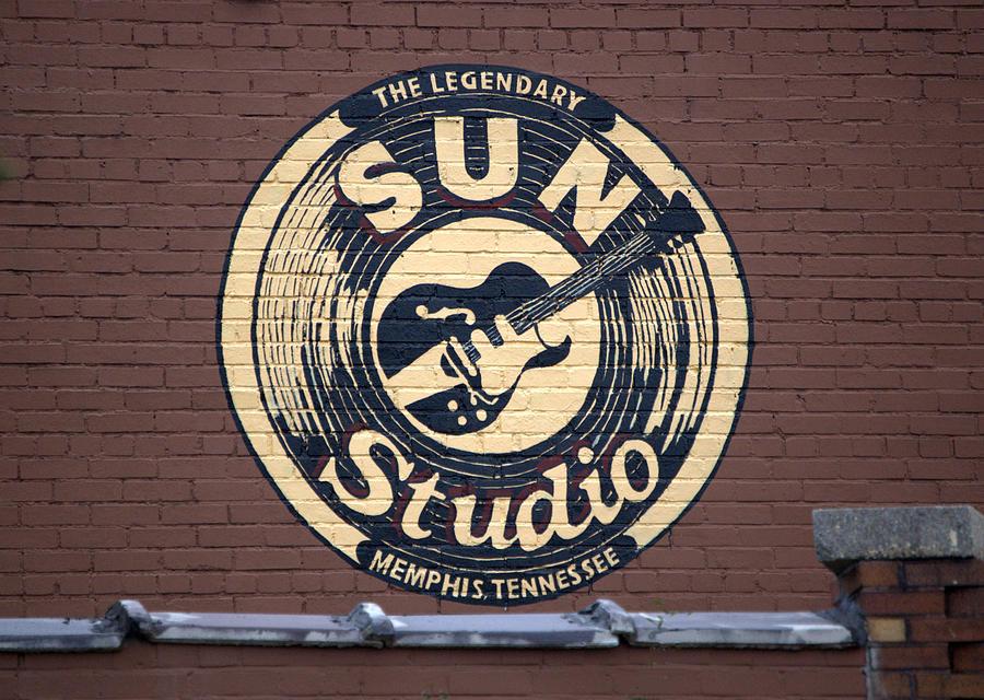 Sun Studio Photograph - Sun Studio Memphis Tennessee by Wayne Higgs