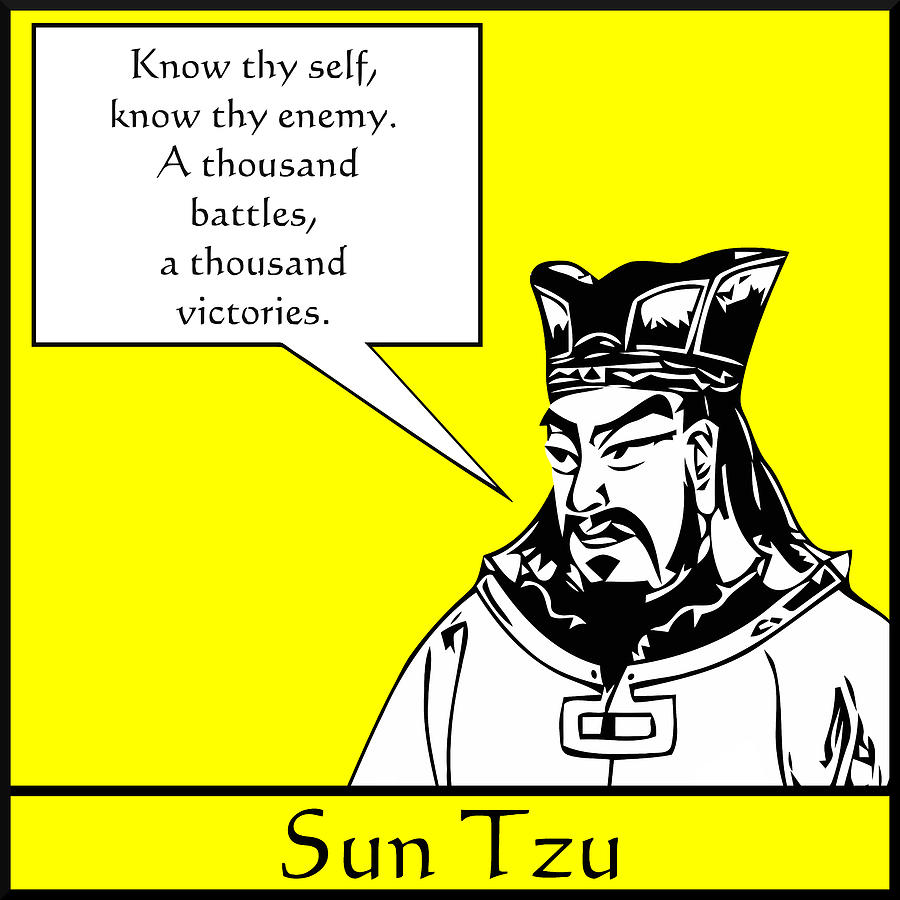 Sun Tzu Digital Art