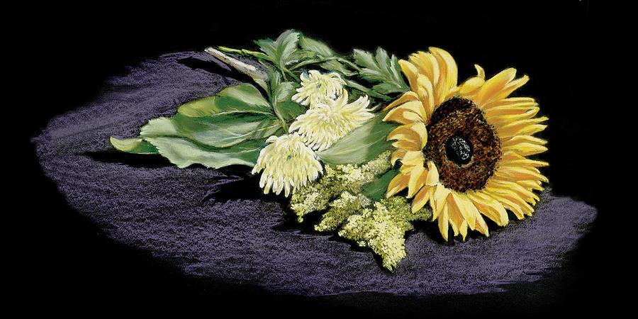 Sunflowers Painting - Sunflower by Vanda Luddy