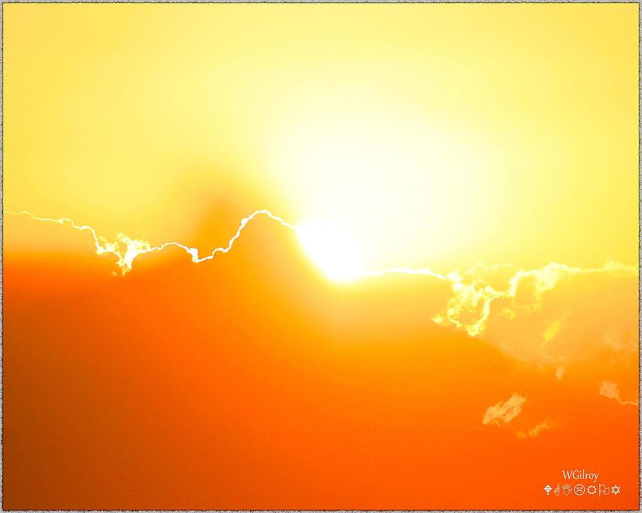 Nature Photograph - Sunrise /sunset by W Gilroy