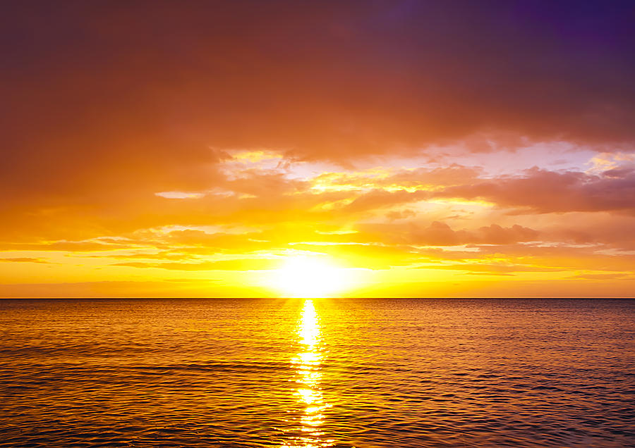 Beach Photograph - Sunrise by Svetlana Sewell