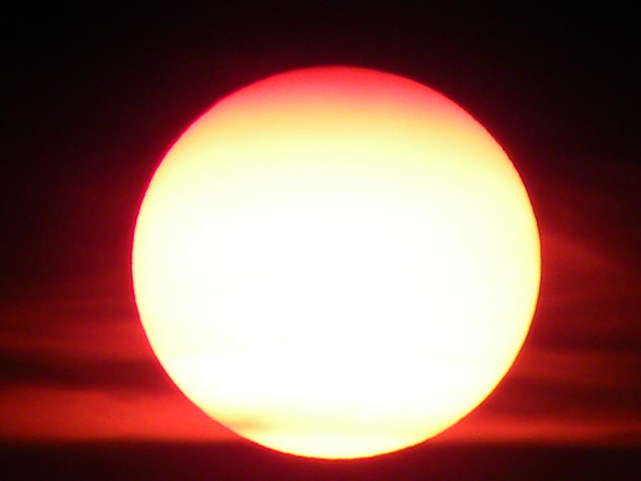Sunsets Photograph - Sunset 1 by Kim Zwick