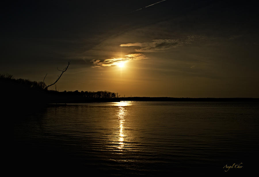 Sunset Photograph - Sunset by Angel Cher