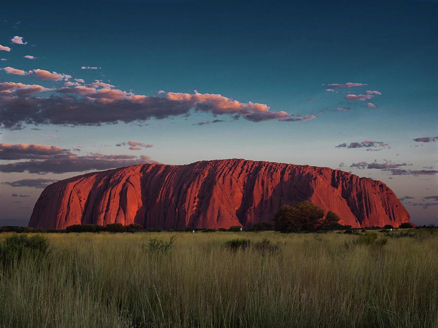 Sunset at Uluru by Walt Sterneman