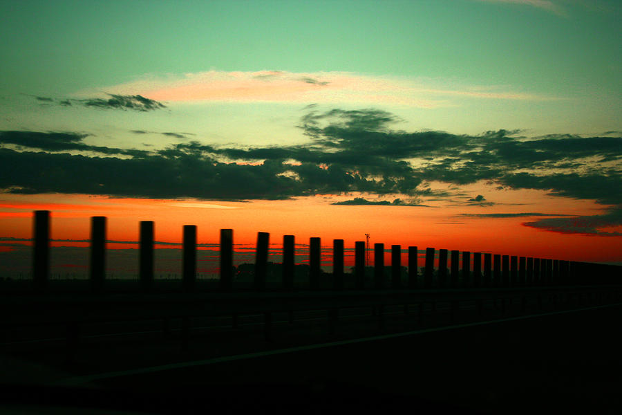 Sunset Photograph - Sunset by Buta  Gabriel