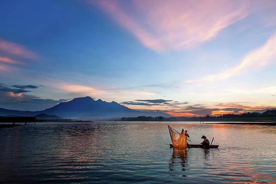 Sunset Photograph by Kim Le