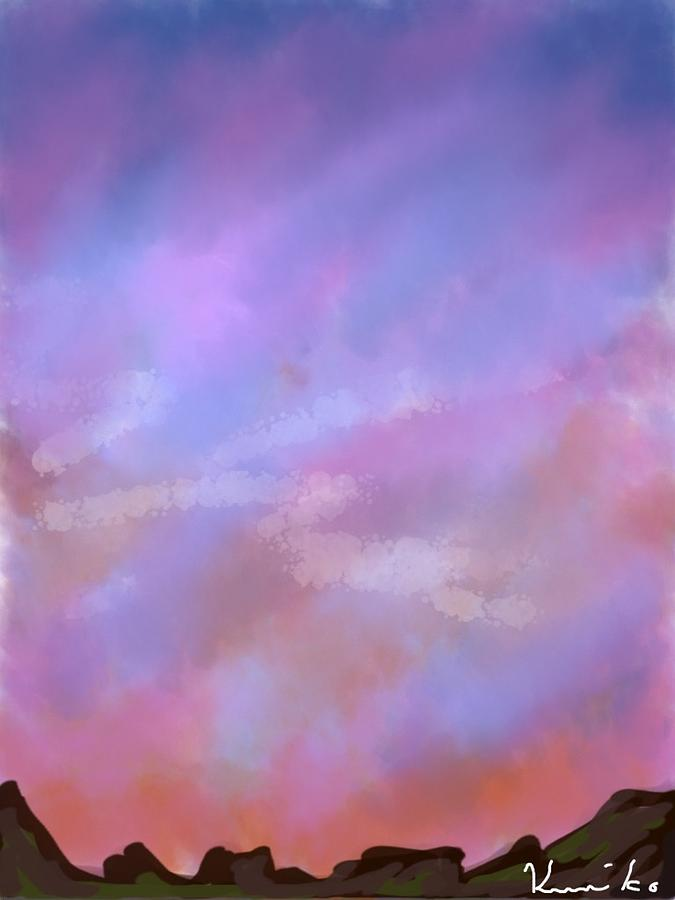 Sunset Photograph - Sunset by Kumiko Izumi
