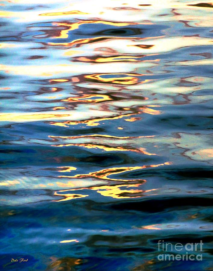 Sunset on Water by Dale   Ford