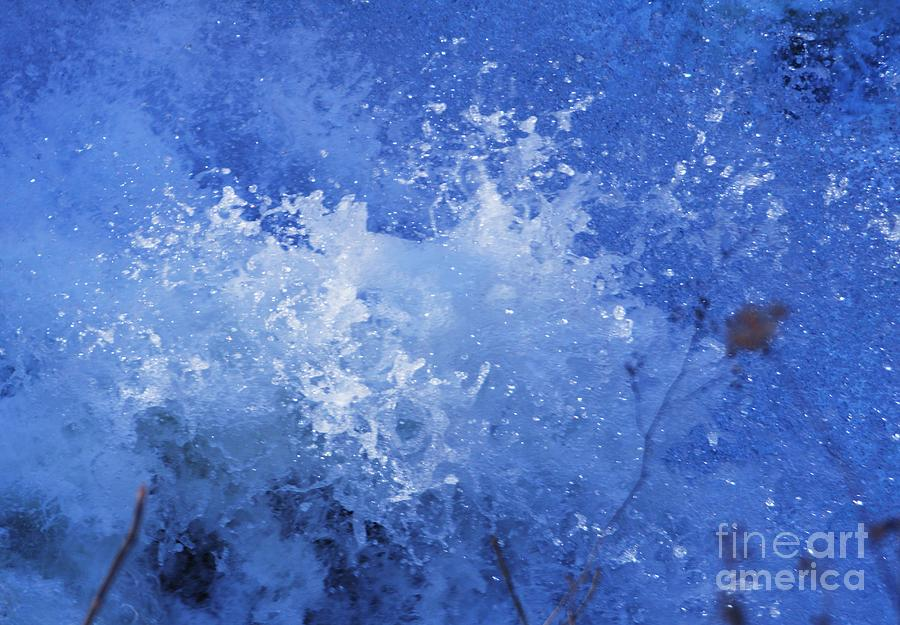 Surreal Photograph - Water In Motion, Harpers Ferry by Poets Eye