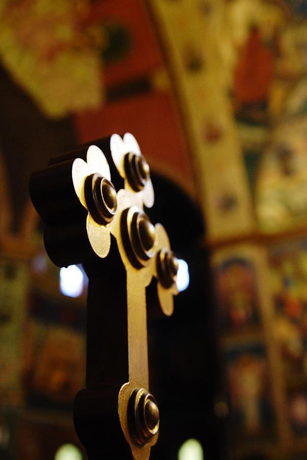 Church Photograph - Sursum Corda by Mihail Antonio Andrei