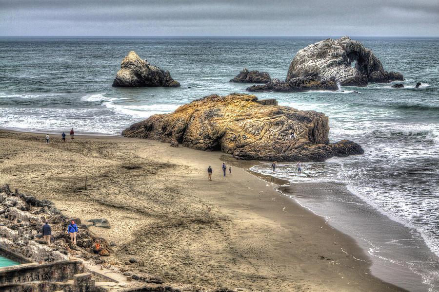 San Francisco Photograph - Ocean Beach by SC Heffner