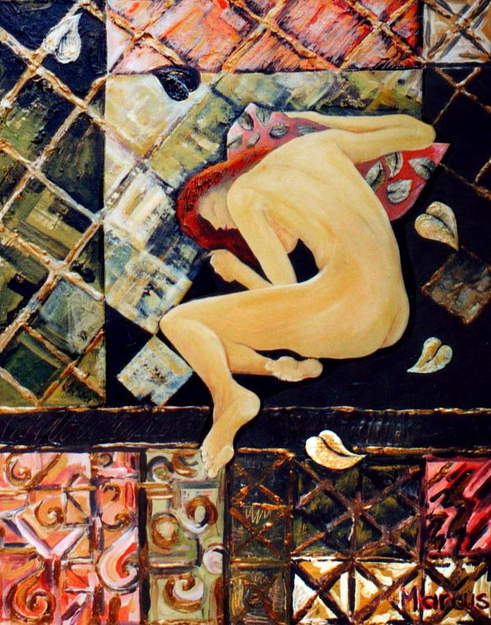 Nude Painting - Sweet Dreams by Leslie Marcus