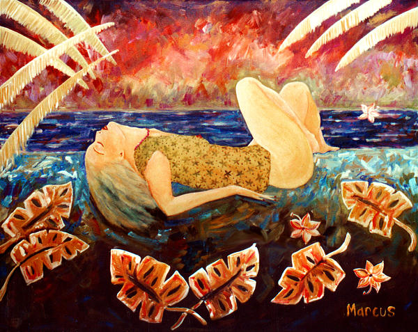 Sweet Surrender Painting by Leslie Marcus