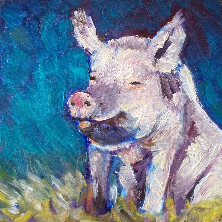 Susie Painting - Sweet Susie by Sheila Tajima