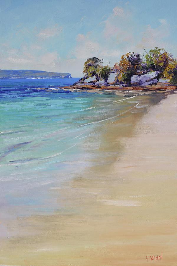 Sydney Harbour Beach Painting