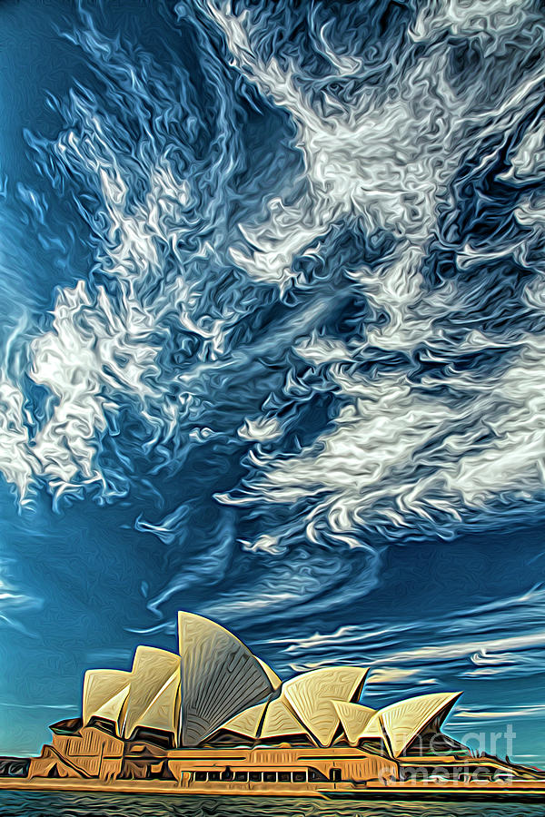 Sydney Opera House Photograph - Sydney Opera House by Sheila Smart Fine Art Photography