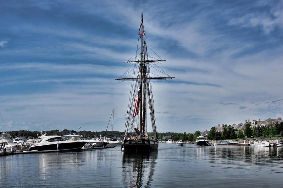 Tall Ship Lynx Photograph