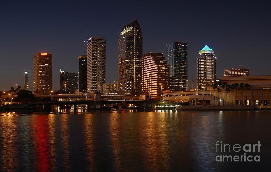 Tampa Photograph - Tampa Florida  by David Lee Thompson