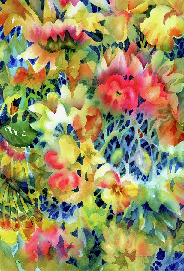 Tangled Blooms by Ann Nicholson