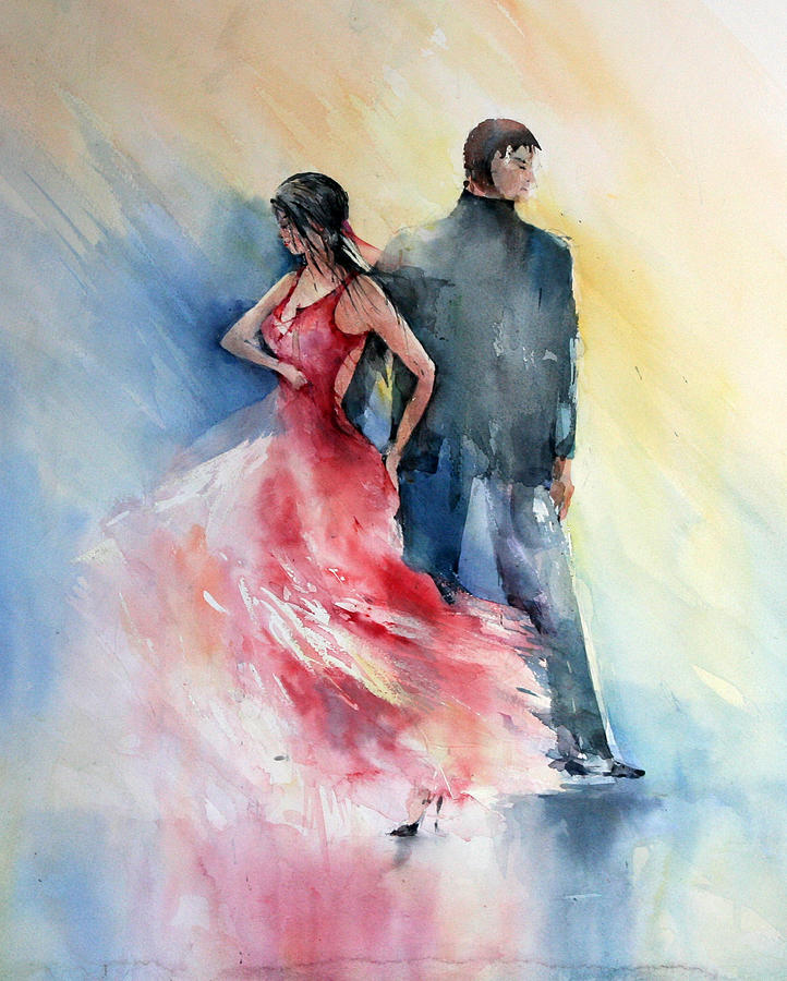 Tango Painting - Tango by Natalia Eremeyeva Duarte