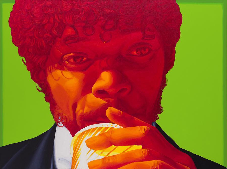 Pulp Fiction Painting - Tasty Beverage by Ellen Patton