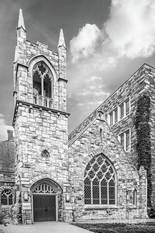Collegiate Gothic Photograph - Temple University by University Icons